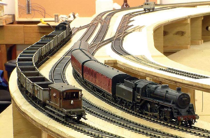 Wagons Moving To P4 Scalefour Society