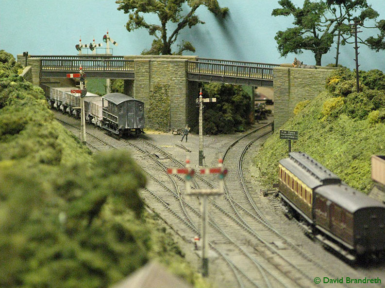 Scalefour society model railway layout bodmin for Architecture t scale