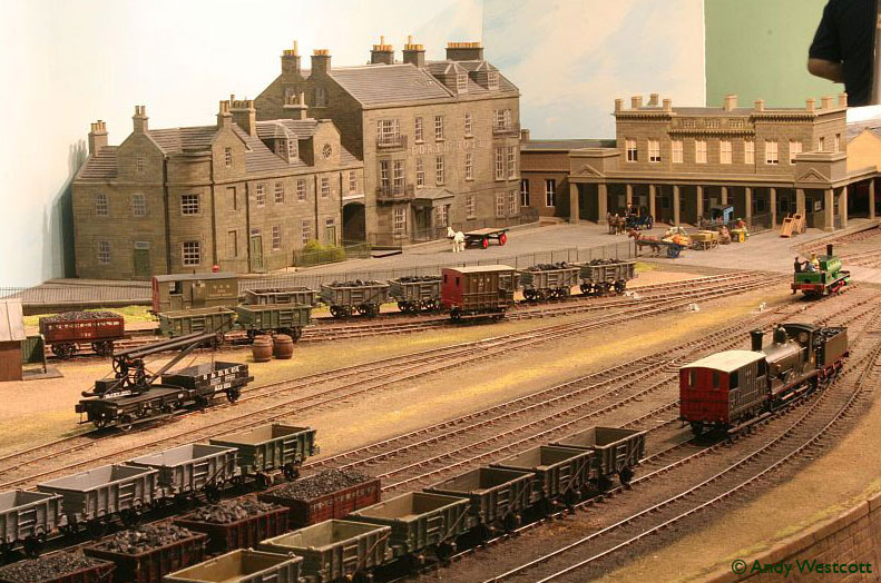Model railway layout - Burntisland