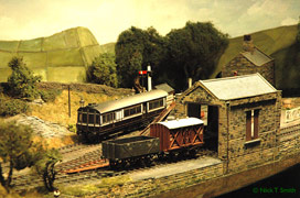 Model railway layout - Hepton Wharf