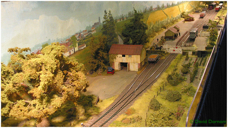 Model railway layout - Laxfield