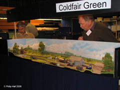 Model railway layout - Coldfair Green