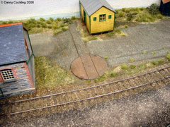 Model railway layout - St Merryn